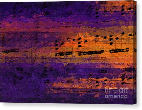 Purple Phrase 2 Canvas Print