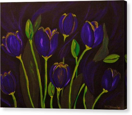 Purpleluscious Canvas Print