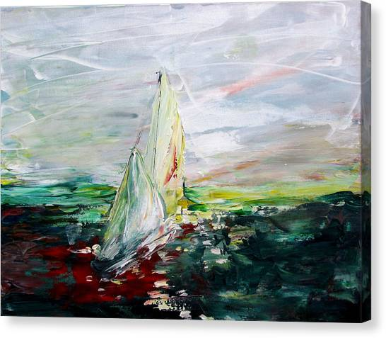 Put To Sea Canvas Print