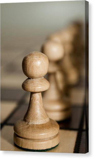 Pawns Canvas Print