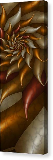 Canvas Print featuring the digital art Pv-60 by Dennis Brady