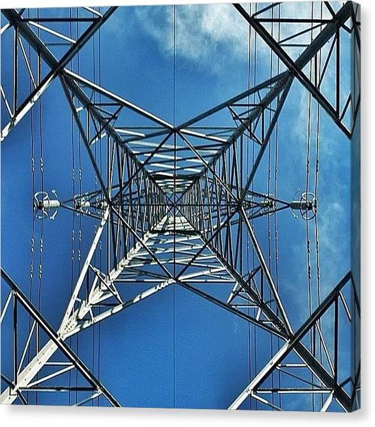 Vertigo Canvas Print - Pylon by Phil Tomlinson