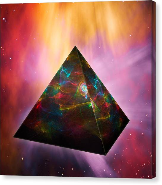 Pyramid Of Souls Canvas Print