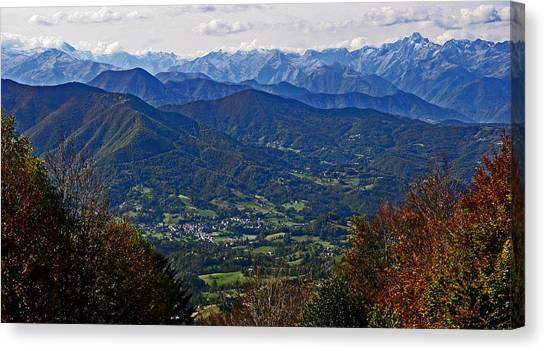 Pyrenean View Canvas Print