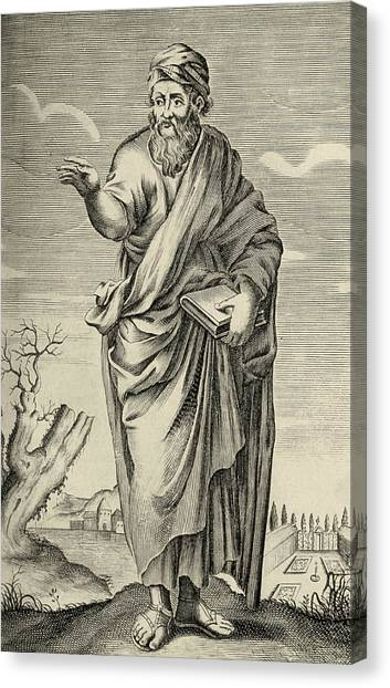 Philosopher Canvas Print - Pythagoras by George Bernard/science Photo Library
