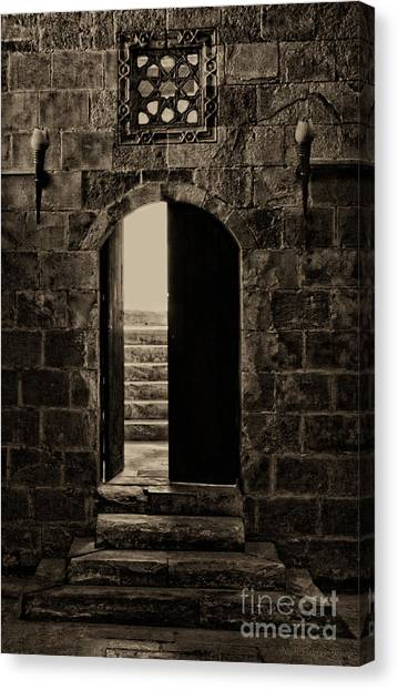 Qalawun Doorway Cairo Canvas Print