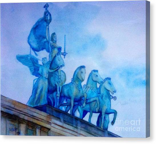 Quadriga At Grand Army Plaza Canvas Print