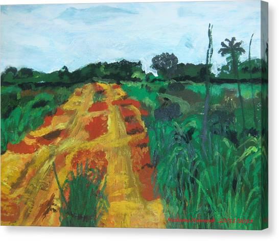 Quagmire To My Village Canvas Print