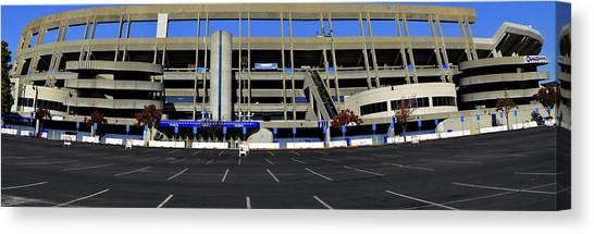 San Diego Padres Canvas Print - Qualcomm Stadium  by See My  Photos