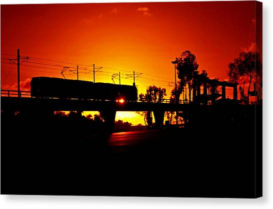 San Diego Padres Canvas Print - Qualcomm Station by See My  Photos