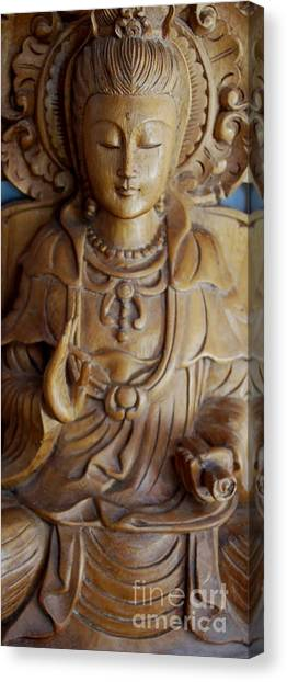 Quan Yin Compassion Canvas Print
