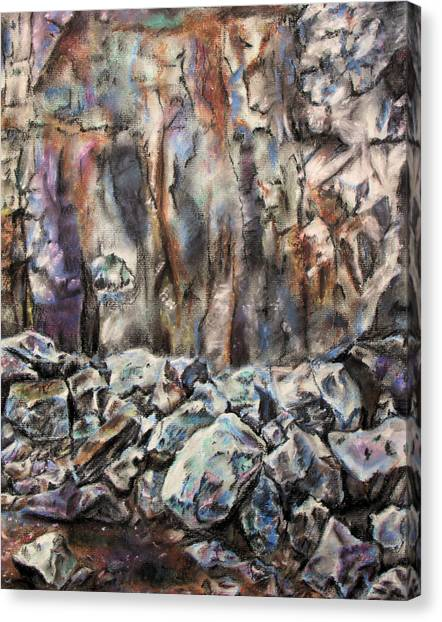Quarry Canvas Print