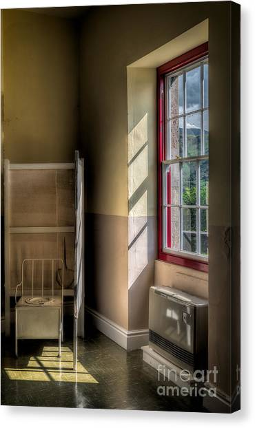 Chamber Pot Canvas Print - Quarry Hospital by Adrian Evans