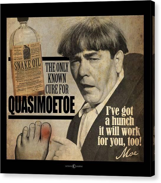 Quasimoetoe Poster Canvas Print