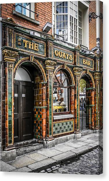 Quays Bar Canvas Print