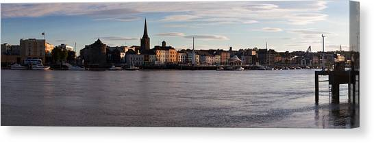 Waterford Canvas Print - Quayside, Reginalds Tower, River Suir by Panoramic Images