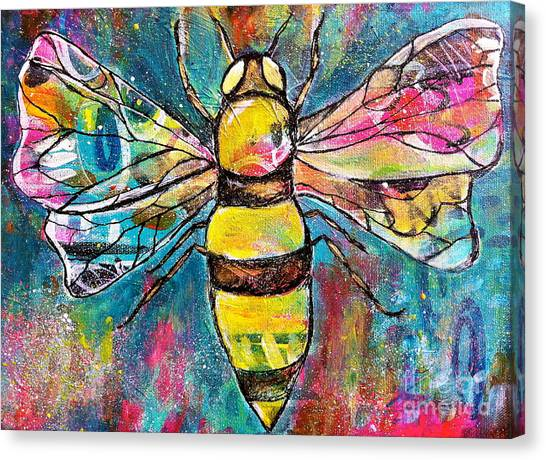 Queen Bee #2 Canvas Print
