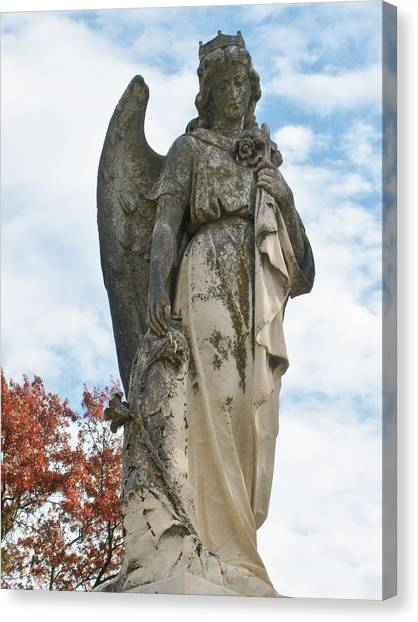 Queen Of The Angels Canvas Print