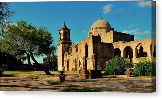 Queen Of The Missions Canvas Print