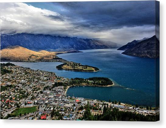 Queenstown New Zealand Canvas Print