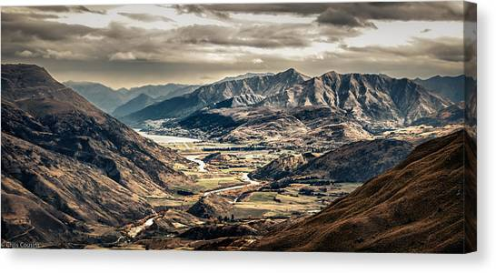 Queenstown View Canvas Print