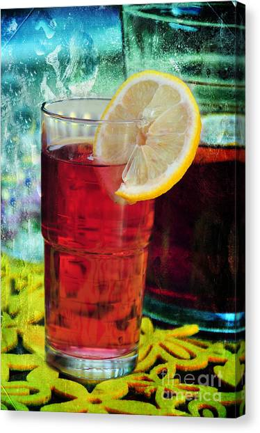 Quench My Thirst Canvas Print