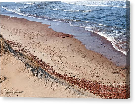 Quiet Beach Canvas Print