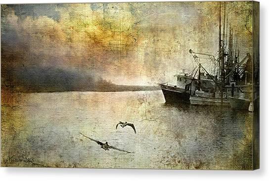 Quiet Morn Canvas Print