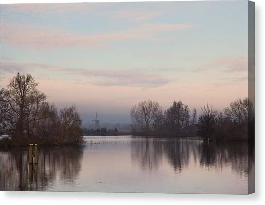 Quiet Morning Canvas Print