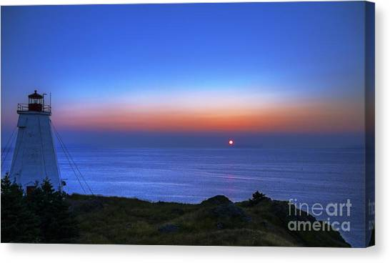 Quiet Morning.. Canvas Print