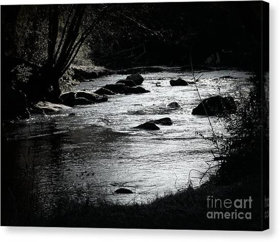 Quiet Stream Canvas Print