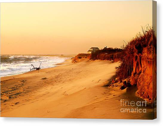 Quiet Summer Sunset Canvas Print