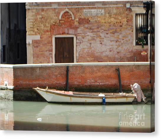Quiet Venice Canvas Print