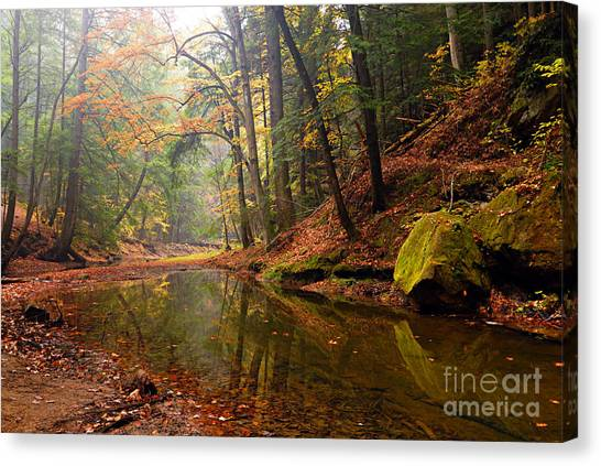 Quiet Waters Canvas Print