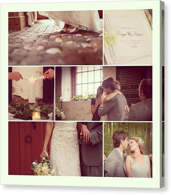 Groom Canvas Print - Quite Possibly The #sweetest #wedding by Katie Dyck
