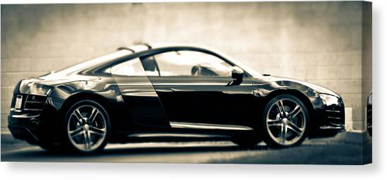 R8 Dreams In Black And White Canvas Print