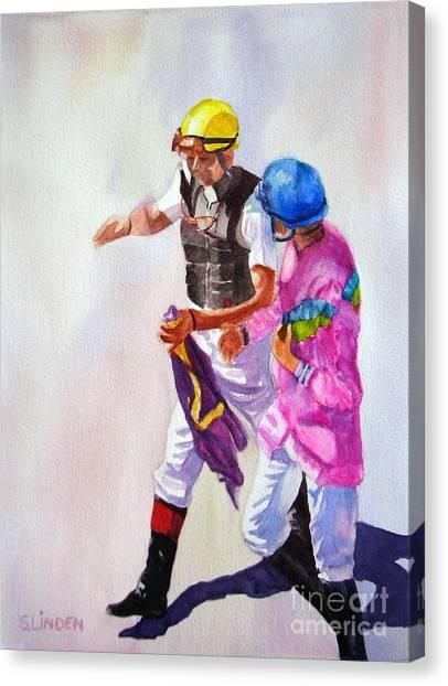 Race Rehash Canvas Print