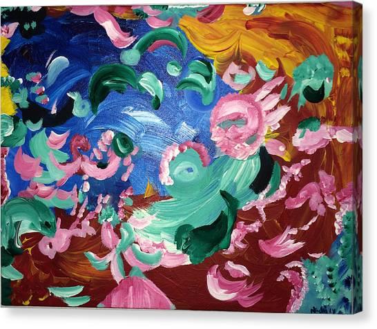 Rachael's Healing Canvas Print