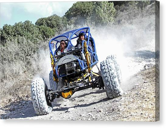 Offroading Canvas Print - Racing Buggy by Photostock-israel