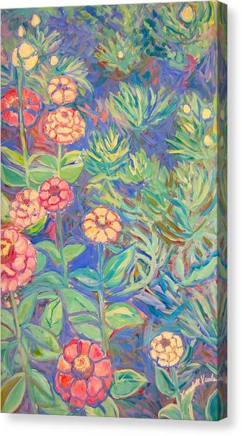 Radford Library Butterfly Garden Canvas Print