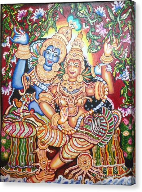 Radheshyam Canvas Print by Jayashree