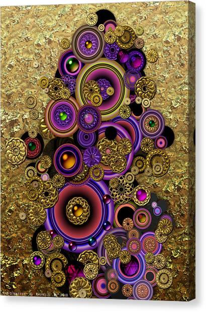 Radielle Canvas Print