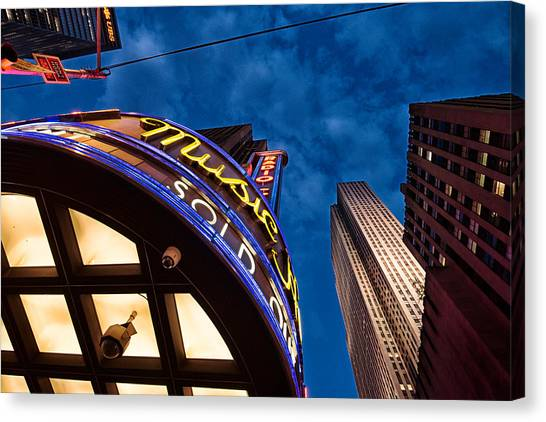 Radio City And 30 Rock Canvas Print