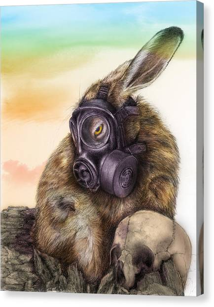 Radioactive - Color Canvas Print