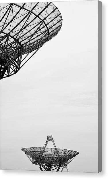 Radiotelescope Antennas.  Canvas Print