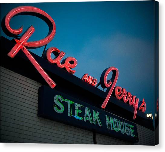 Manitoba Canvas Print - Rae And Jerry's by Bryan Scott