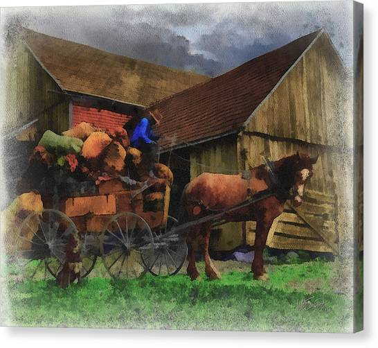 Rag Man Canvas Print