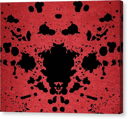 The Haunted House Canvas Print - Rage by Dan Sproul