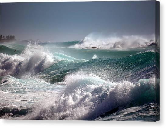 Raging Waters Canvas Print