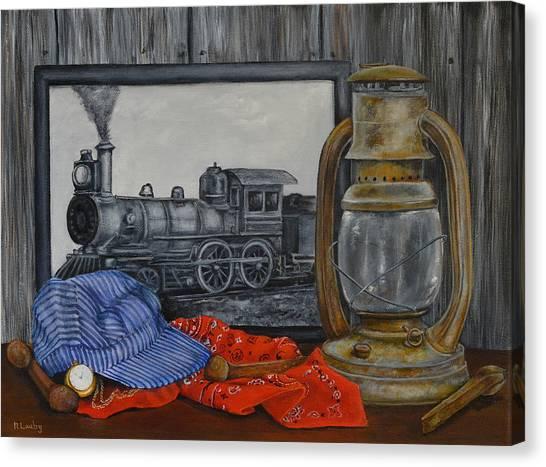 Rail History Canvas Print